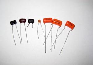 Silver Mica, Ceramic and Orange Drop Capacitors