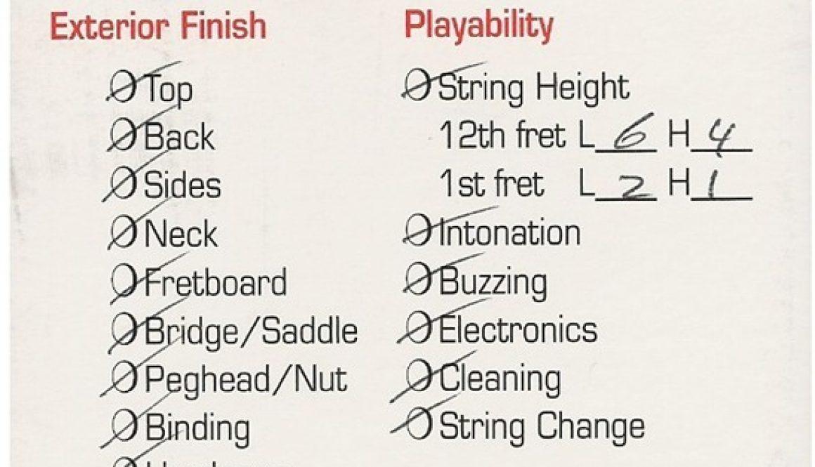 Prepack Checklist