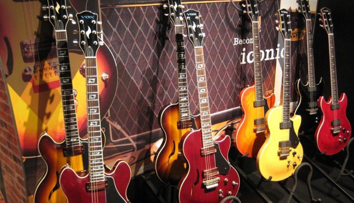 New Vox Guitars