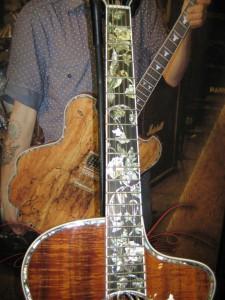 Minarik Acoustic with Hummingbird Inlays