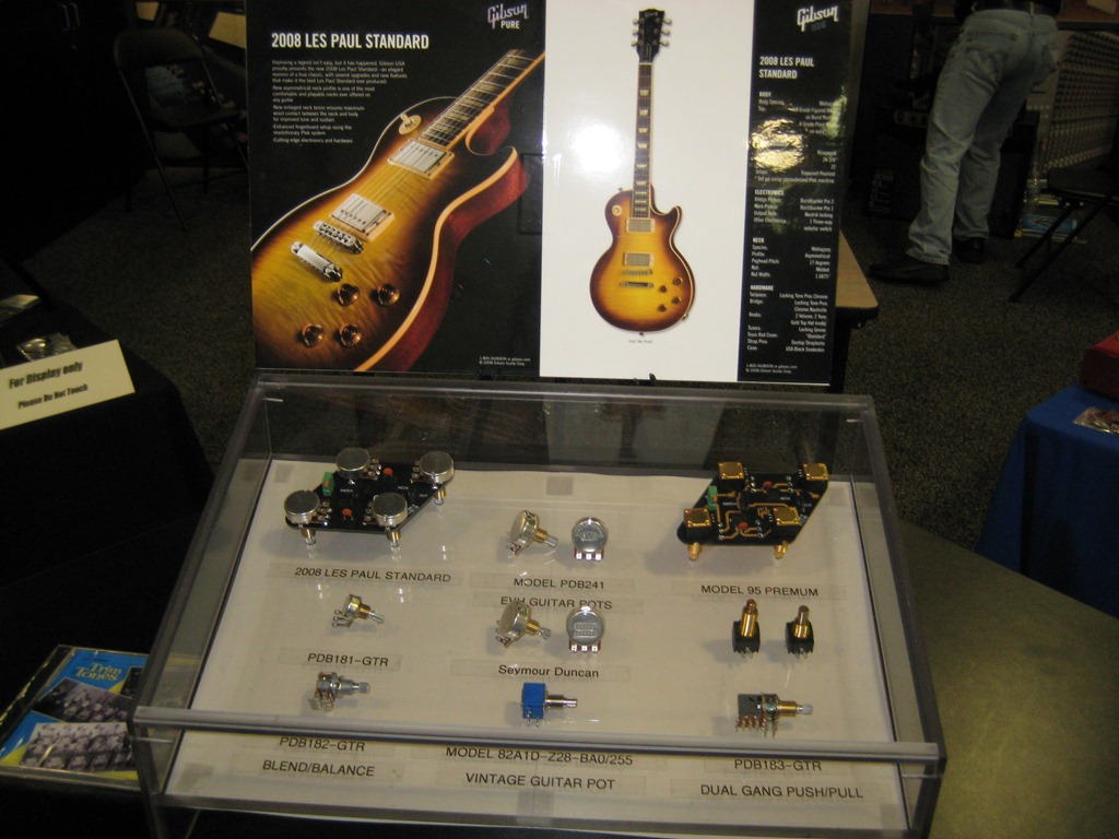 Electronic Components at NAMM – Planet Z