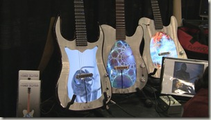 LCD Video Guitars from Visionary Instruments