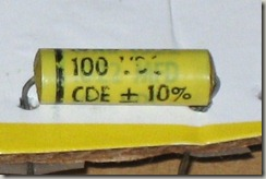 CDE Type WMF 1S22 Polyester Film capacitor