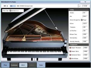 KRONOS SGX-1 grand piano