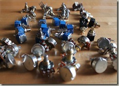Field of Potentiometers