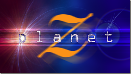 New PlanetZ logo