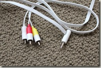 4 conductor TRRS cable - like an iBook audio/video cable
