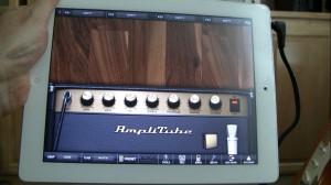 Amplitube on the iPad 2