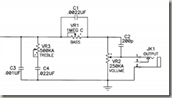 G&L S-500 Schematic closeup
