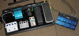 Current pedalboard rig