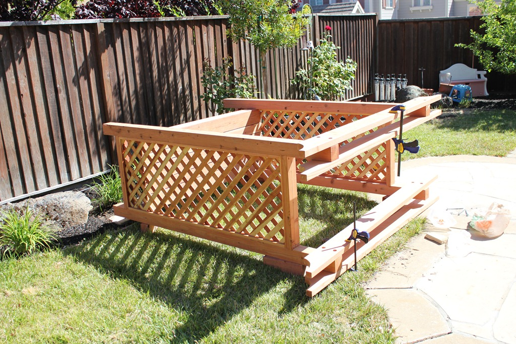 Garden Arbor Bench Project Planet Z