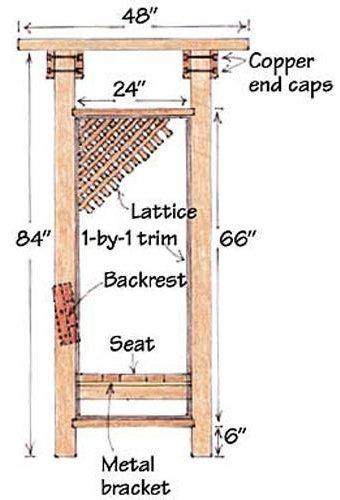 arbor bench design
