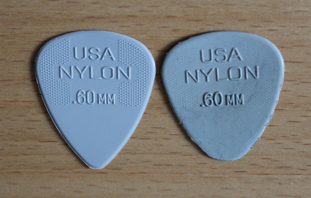 Worn Out 60mm Dunlop Pick