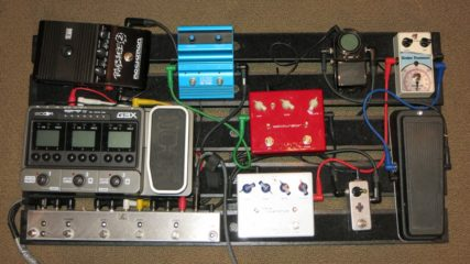 Pedal board with Zoom G3X -- too big!