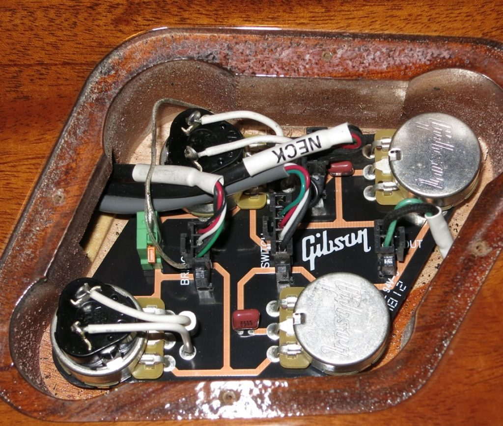 The Overall Guitar Circuit Planet Z Tone Capacitors Also Gibson Les Paul Wiring Further 2013 Studio Electronics