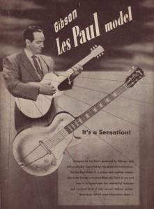 Les Paul 1952 Ad