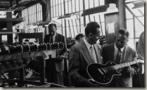 Ted McCarty and Les Paul