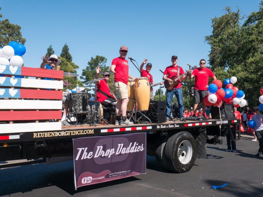 Drop Daddies in 2016 July 4 Parade