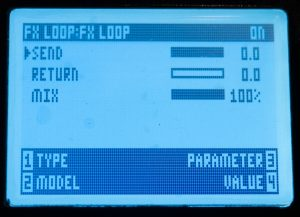 FX Loop Settings