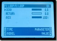 FX Loop Settings