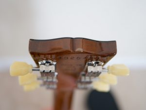 Les Paul Headstock Blemish