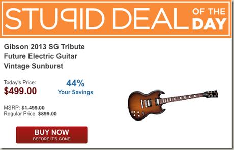Gibson 2013 SG SDOTD