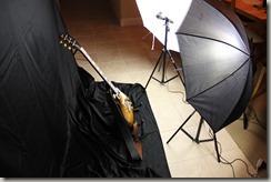 Three Les Pauls Video Shoot