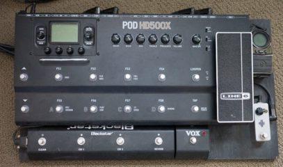 New Pedalboard HD500X