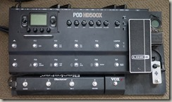 New Pedalboard HD500X