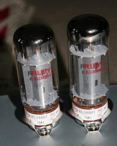 Ruby EL34 Power Tubes