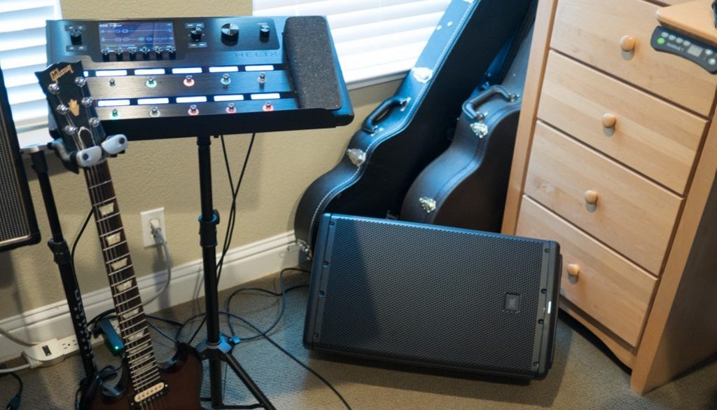 Helix and JBL EON12