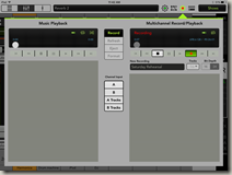 Master Fader Multichannel Record/Playback