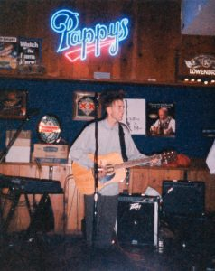 Playing with Falling In Blue at Bear's Lair. March 30, 1989