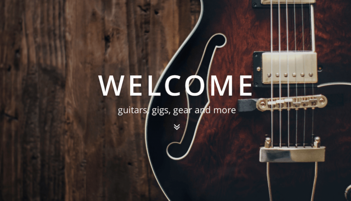 Guitar Welcome