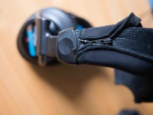 Sony Headphone Neoprene Headband Difficult Zipper