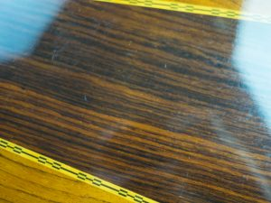 Takamine Acoustic Scratches On Back