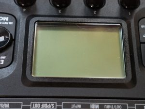 Polishing Hd500x Screen After