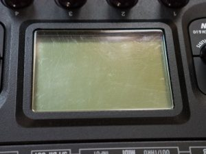 Polishing Hd500x Screen Before