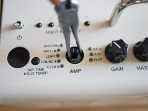Removing Nut On Amp Knob