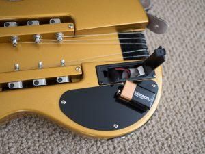 Traveler Guitar Battery Removed